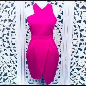 ASOS Asymmetrical structured dress
